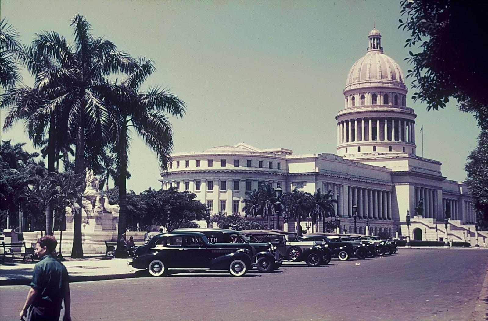 1938с Havana, El Capitolio, Franz Grasser