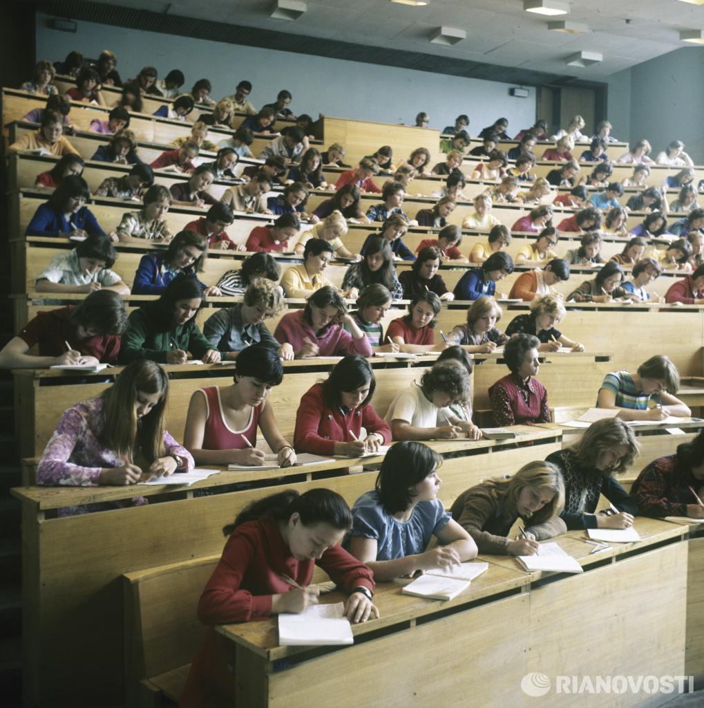 1 октября 1978 Лекция в Ульяновском педагогическом институте