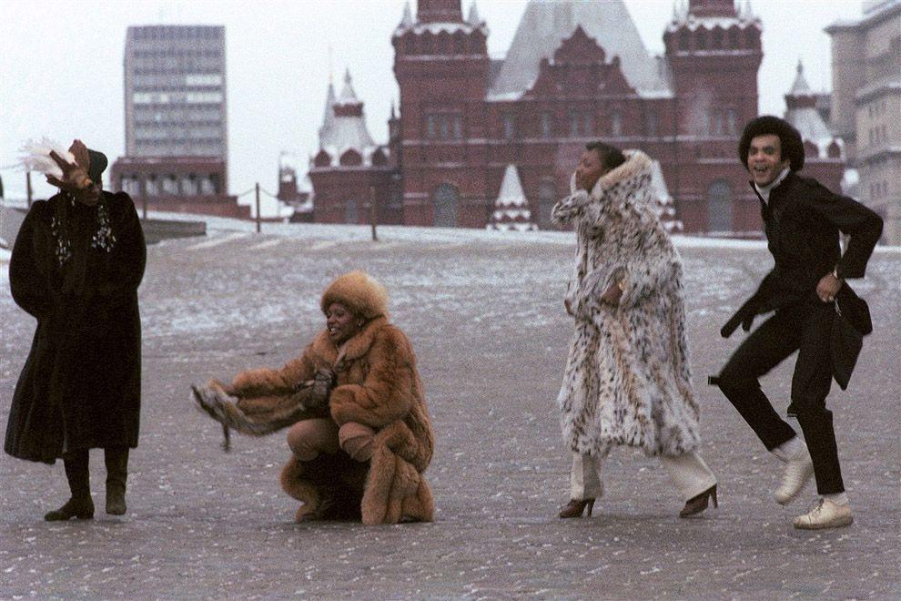 1978 Бони-М на Красной площади Абрамочкин