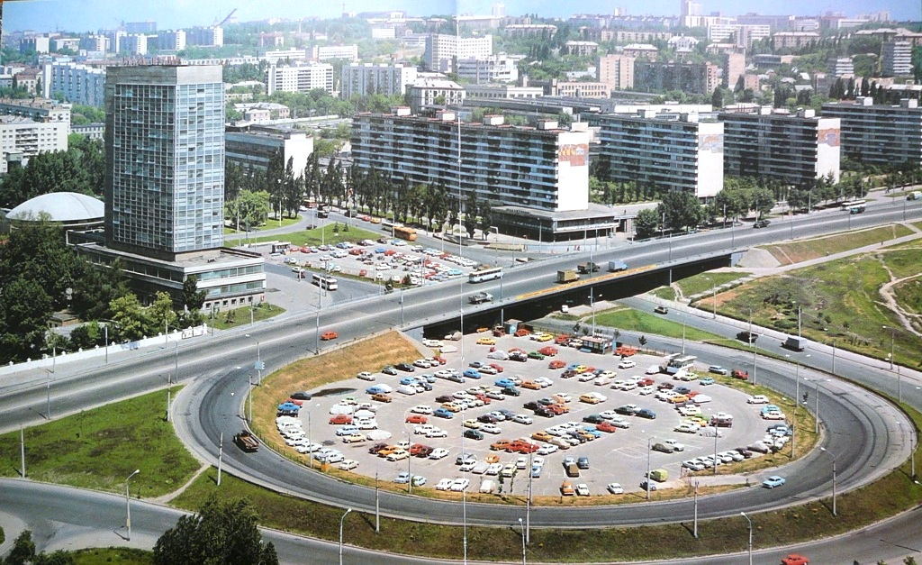 1978 Киев Лыбединская пл