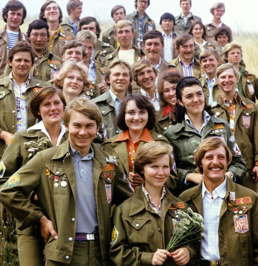 1978 Студенты Алтайского государственного медицинского института поработали со студенческим стройотрядом Магеллан на строительстве канала Обь-Кулунда