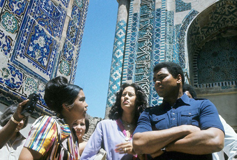 I saw a country populated by a 100 nationalities, living together in harmony. Muhammad Ali, USSR 1978