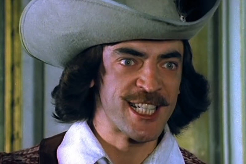 Кадр из фильма «Д`Артаньян и три мушкетера», 1978 год