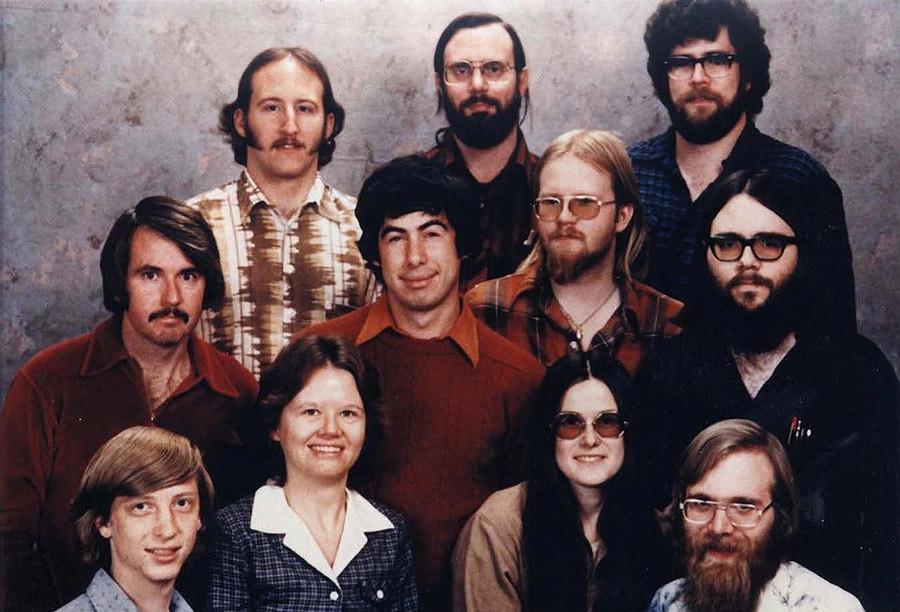 Сотрудники Microsoft, 7 декабря 1978 года