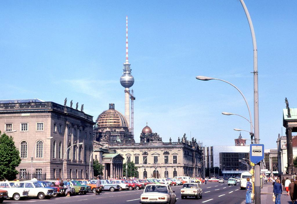 1978 Berlin Unter den Linden