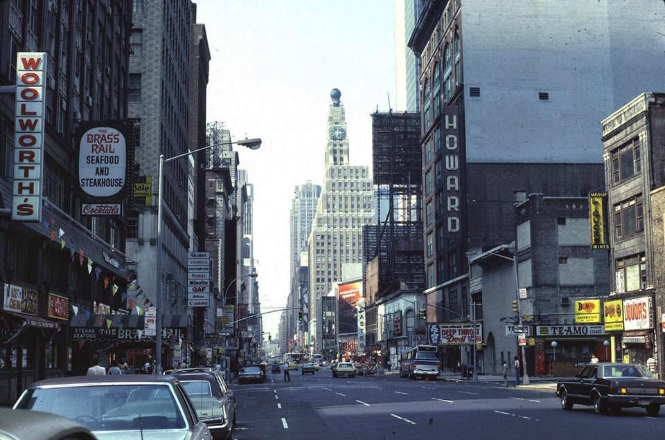 1978 NY 7th Avenue towards 49th Street