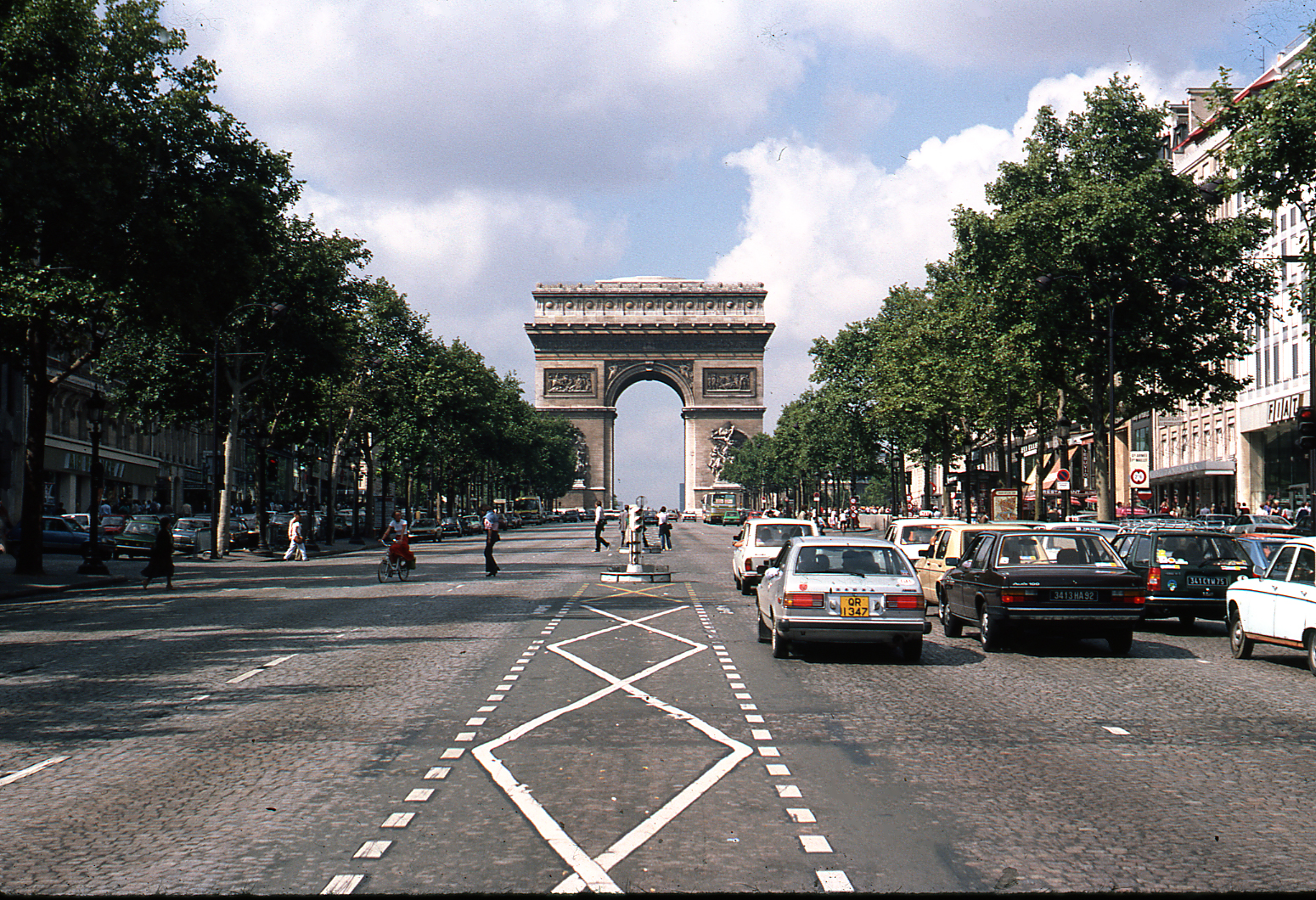 1978 Paris Arc de Triomphe