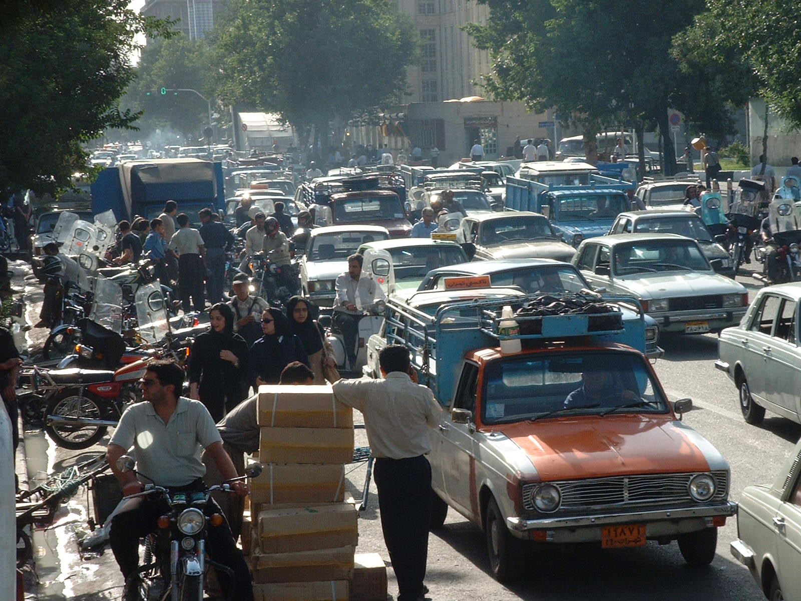 1978 Tehran traffic