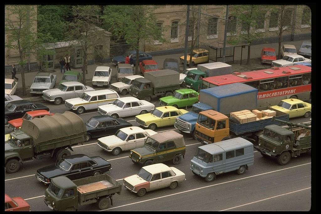 1988c Chris Niedenthal. Смоленский бульвар