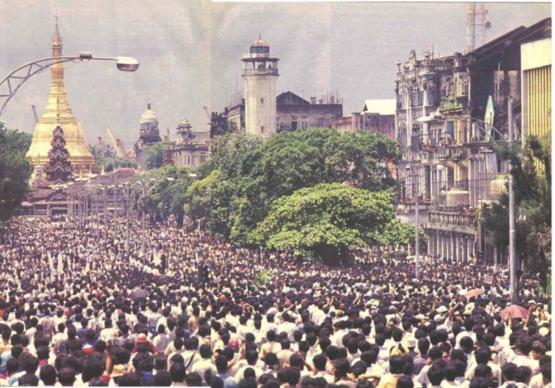 1988 Rangoon protest