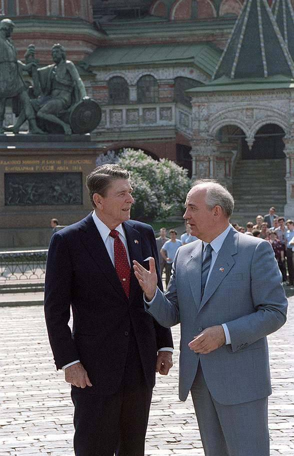 29 мая 1988 года в СССР приехал Рональд Рейган