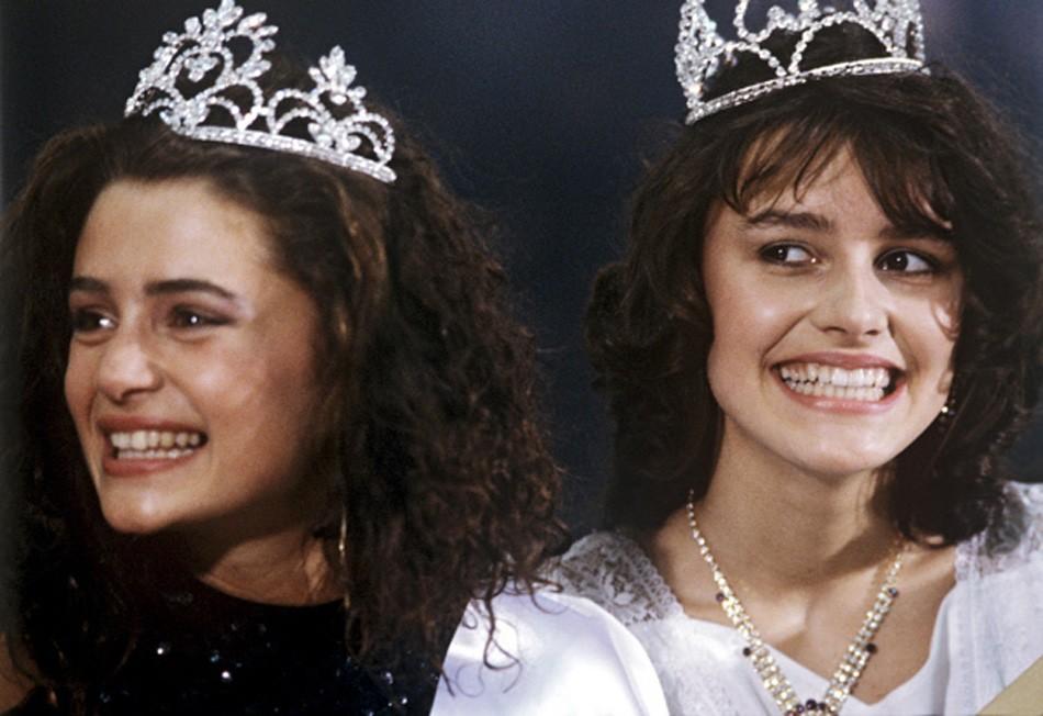 1988 году состоялся первый официальный конкурс красоты Московская красавица  Победила Маша Калинина
