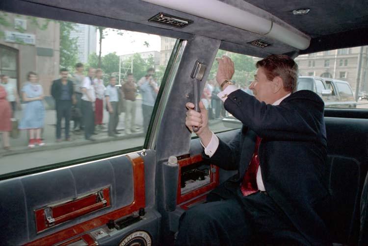 1988 Рейган в СССР