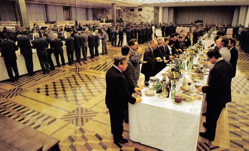 Прием в КДСе в честь Олимпийской Сборной СССР Сеульская Олимпиада 1988