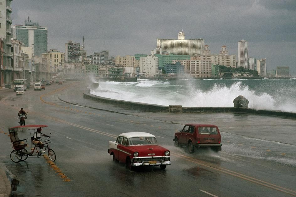 1998 Havana. Malecon. David Alan Harvey