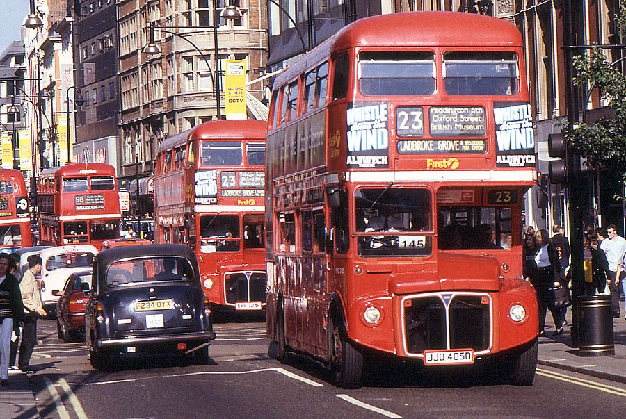 1998 London First RML 2405 Oxford Street London