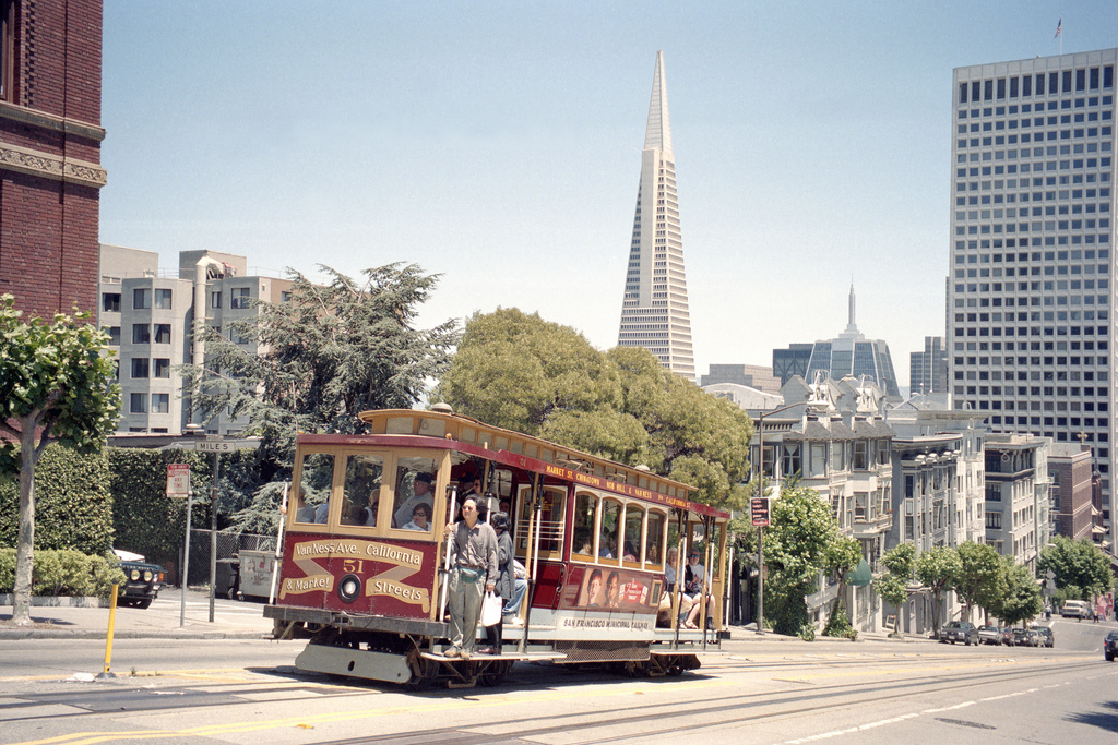 1998 San Francisco Cable Car Nr.51