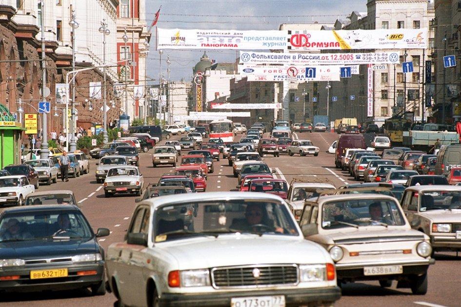 20 век в цвете. Улицы мира 20 лет назад. Уходящая натура