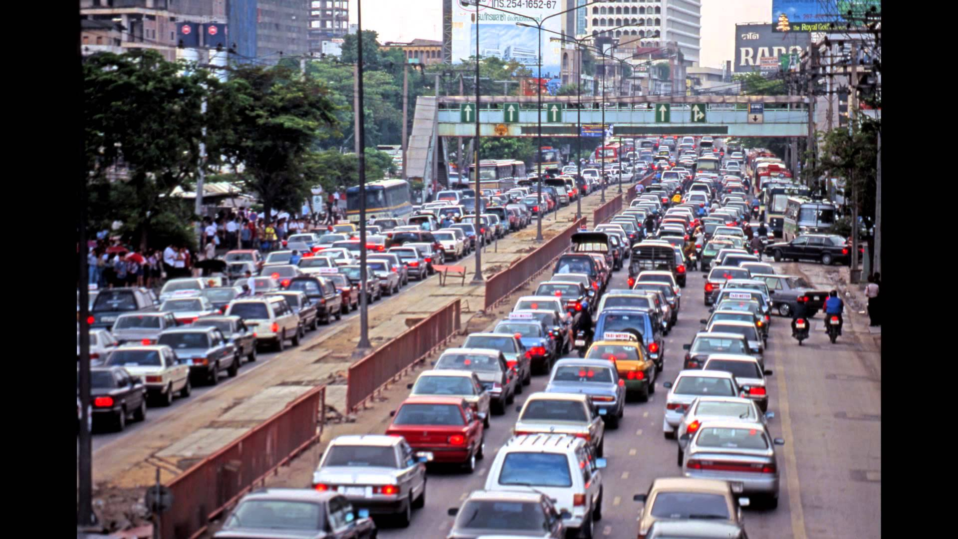 1993 Bangkok traffic jam