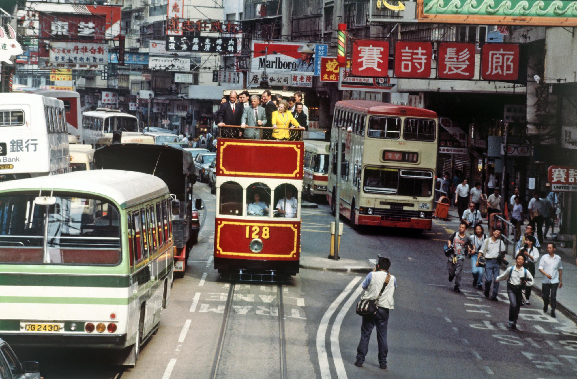 1993 Hong Kong Thatcher visit