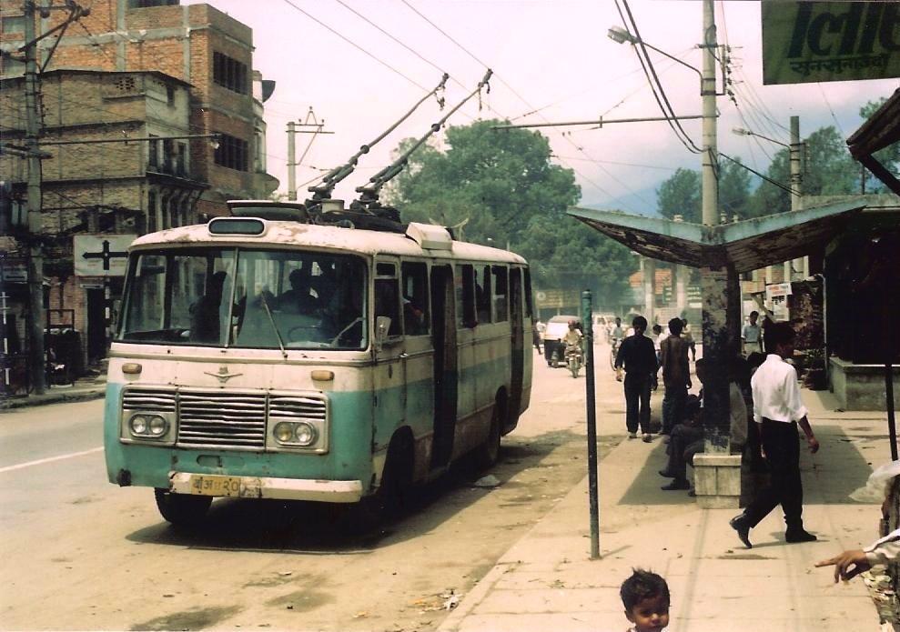 1993 Kathmandu trolleybus