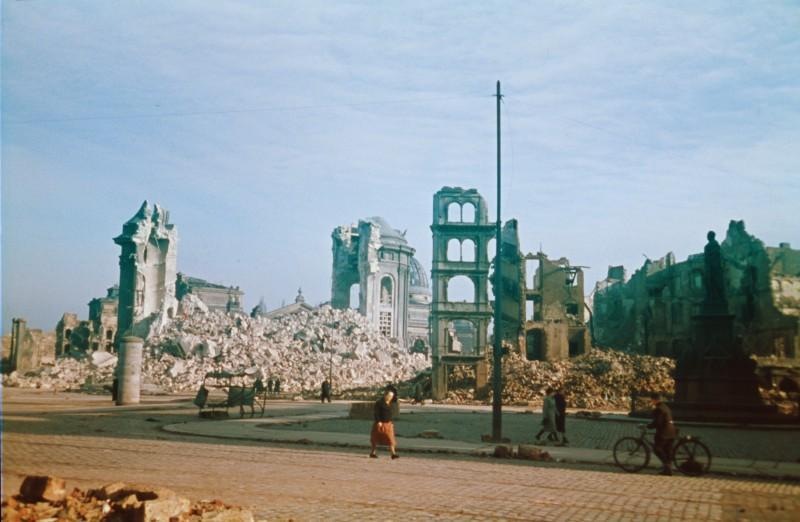 1945 Дрезден. Walter Hahn2