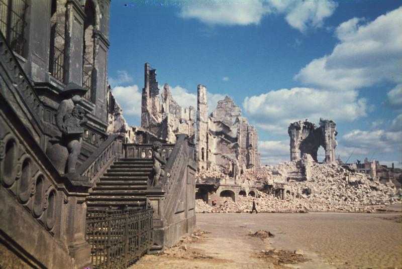1945 Дрезден. Walter Hahn4