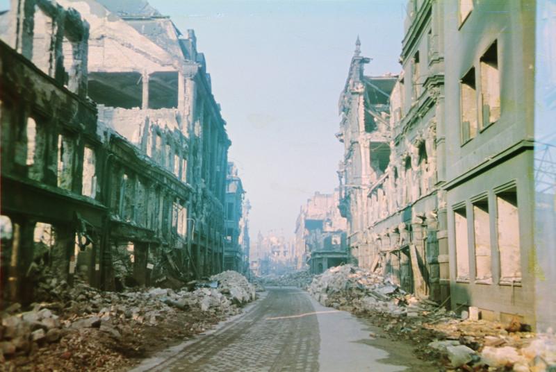 1945 Дрезден. Walter Hahn5