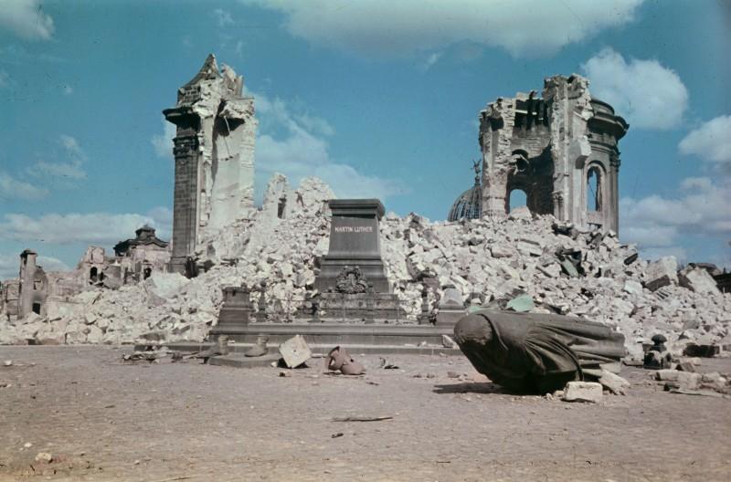 1945 Дрезден. Walter Hahn6