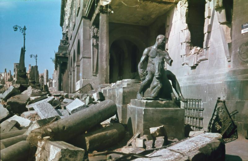 1945 Дрезден. Walter Hahn7
