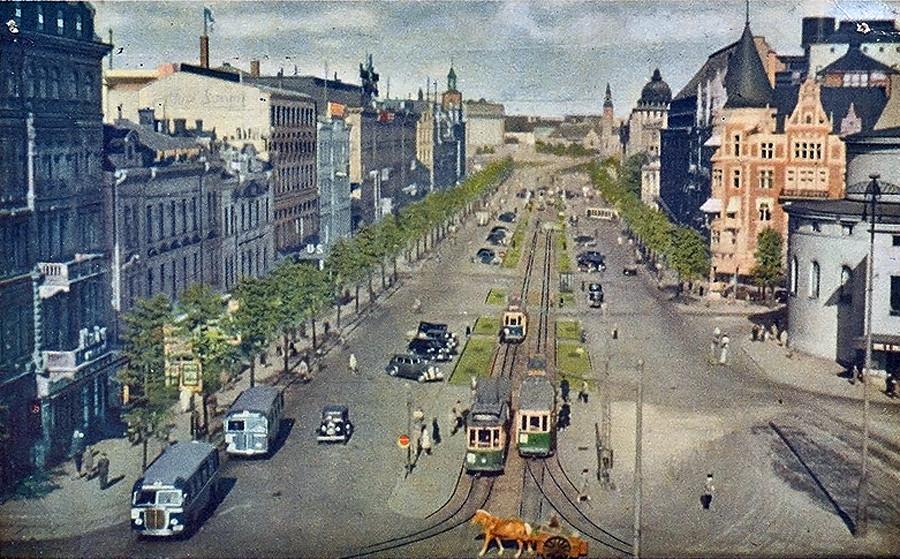 1943 Helsinki Mannerheimintie