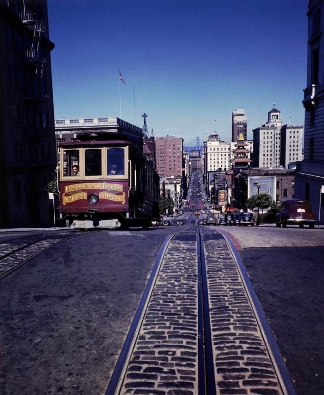 1943 SF tram