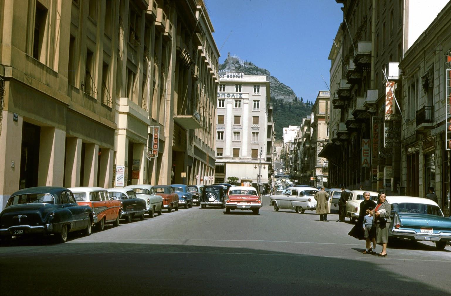 1958 Афины. Seymour Katcoff