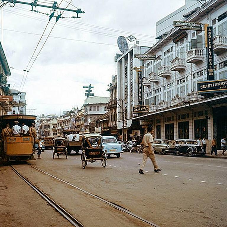 1958 Бангкок Yaowarat Road