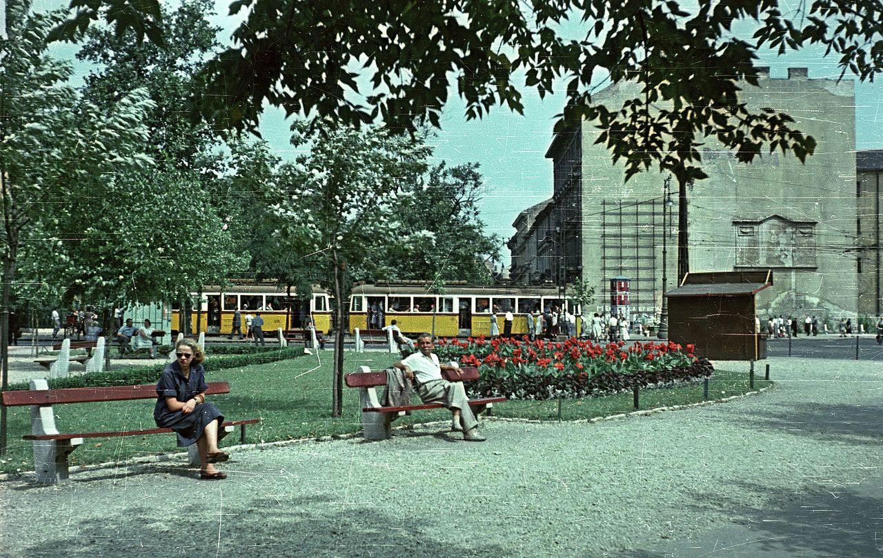 1958 Будапешт. Kalvin ter sarok