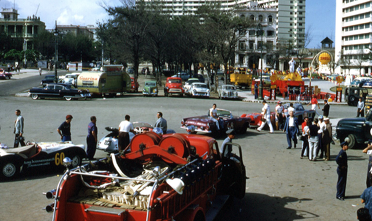 1958 Гаван. Gran Prix of Cuba color photos6