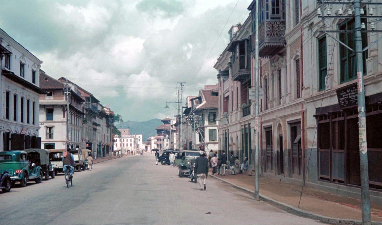 1958 Катманду. New Road