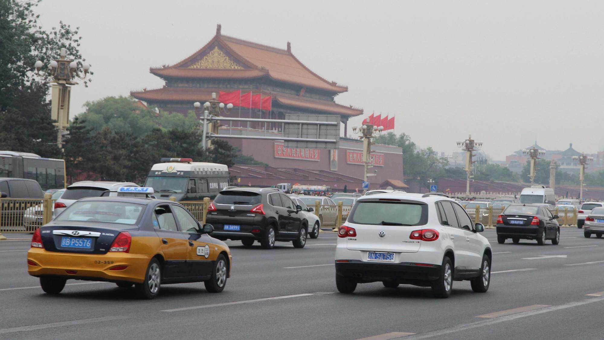 1958 Пекин, пр-т Чаньань2