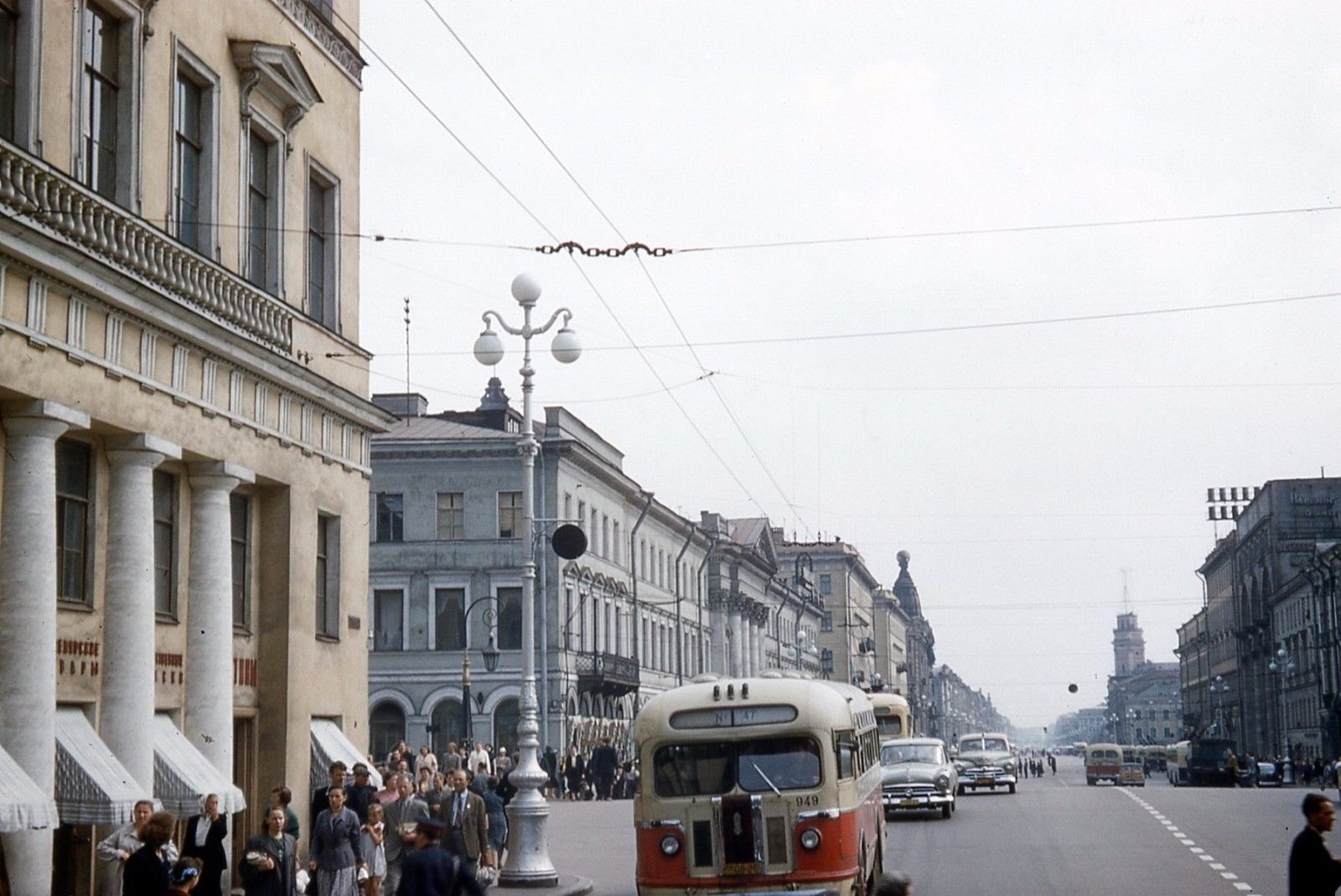 1958 Санкт-Петербург. Невский проспект