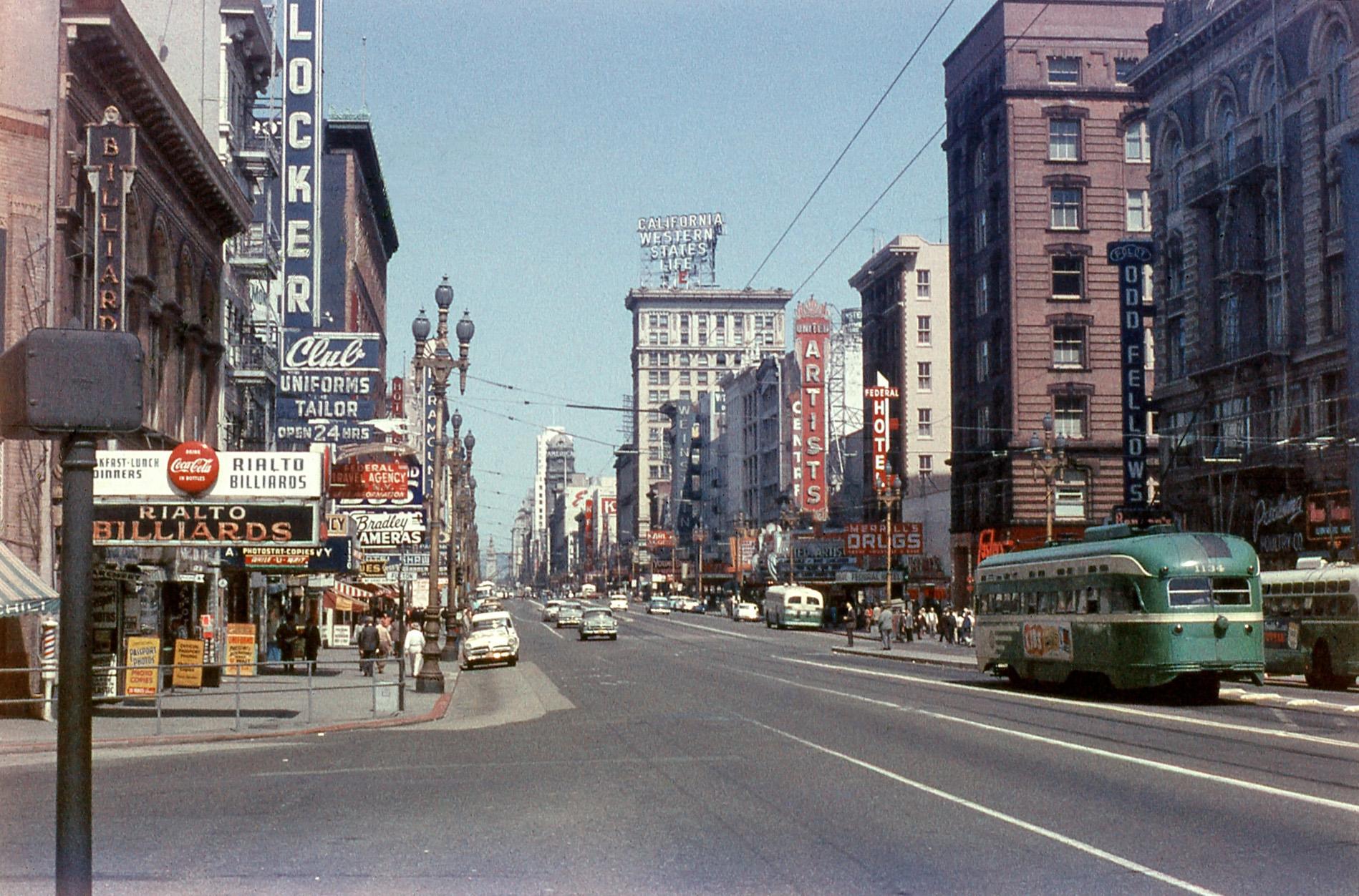 1958 сан-Франциско, Market Street