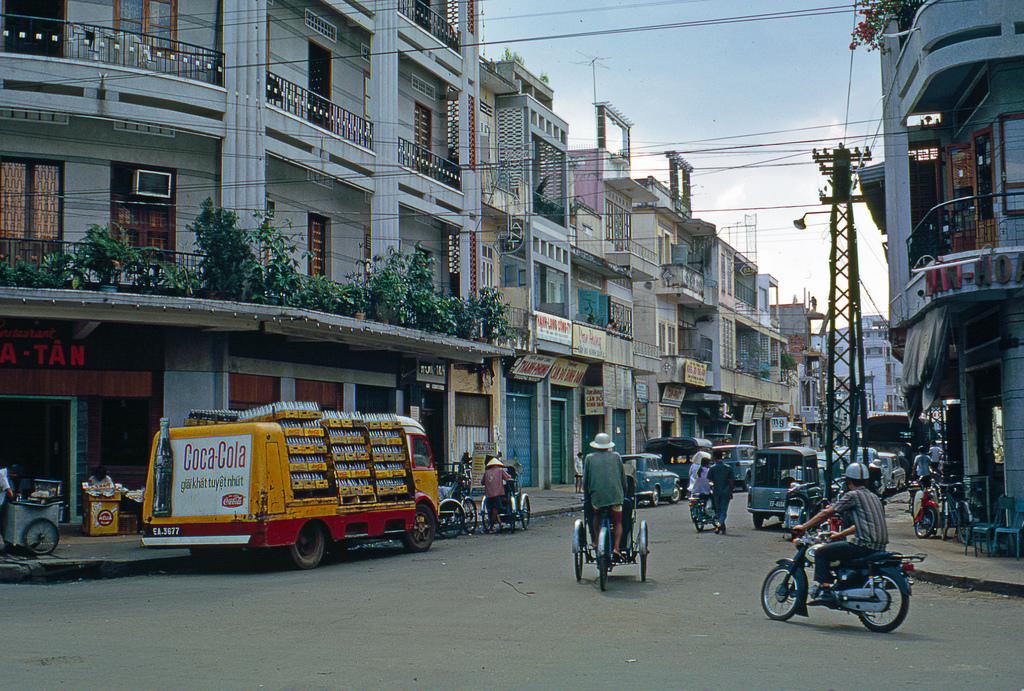 1968 Saigon Coca Cola Delivery