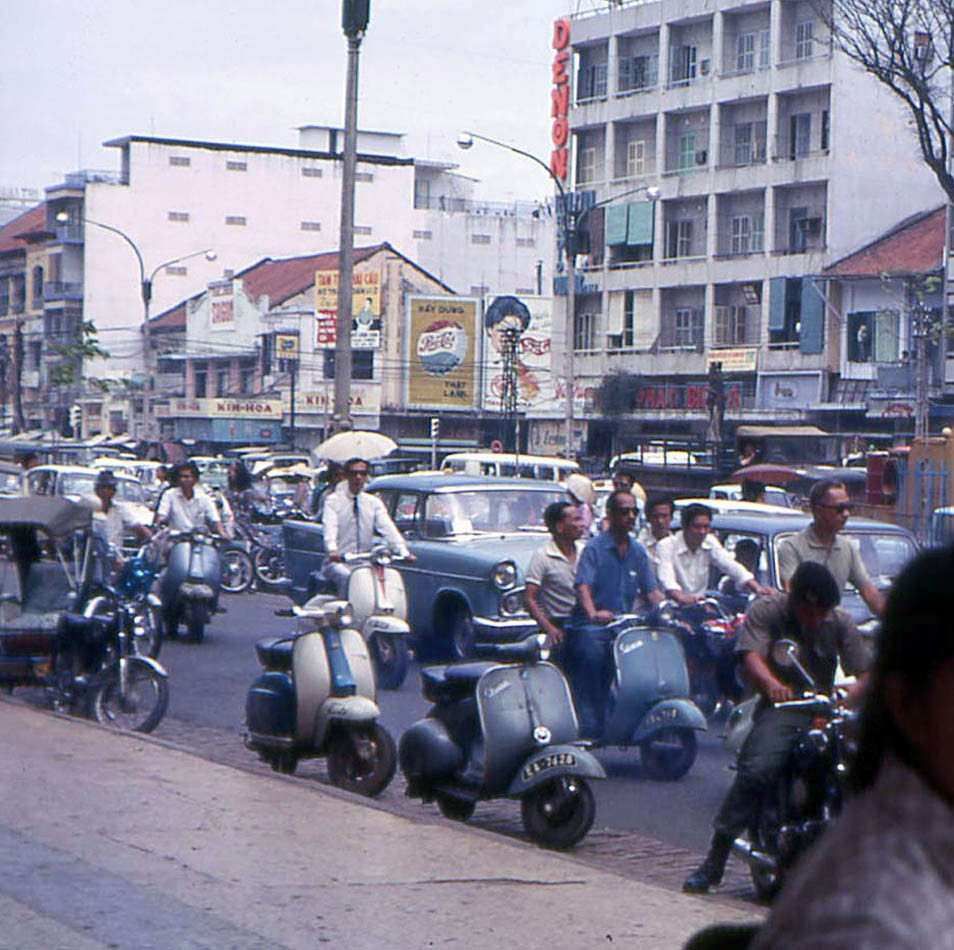 1968 Saigon Le Loi av by John F Cordova