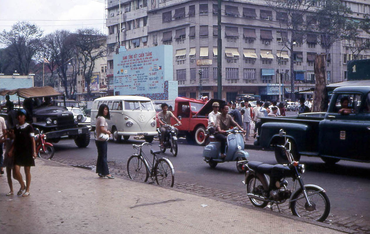 1968 Saigon Nguyen Hue Boulevard