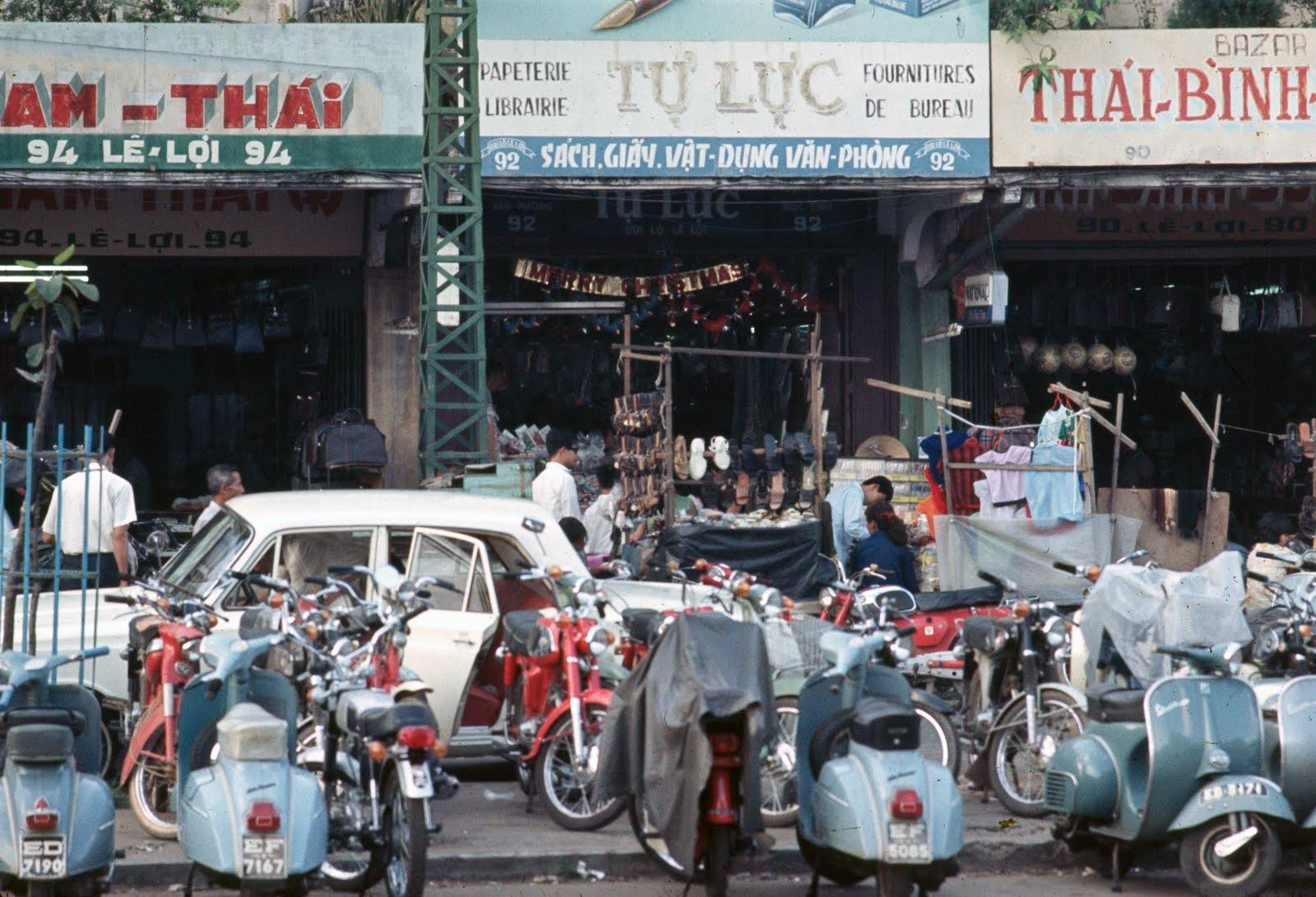 1968 Saigon Shops on Le Loi