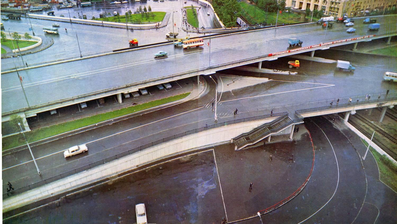 1968 Москва. Савёловская