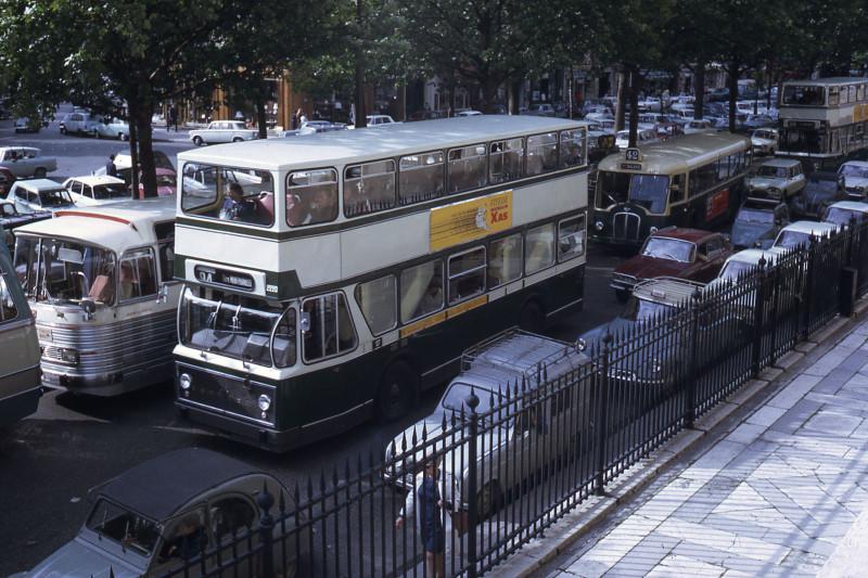 1968 Париж RATP autobus Berliet PCM RE