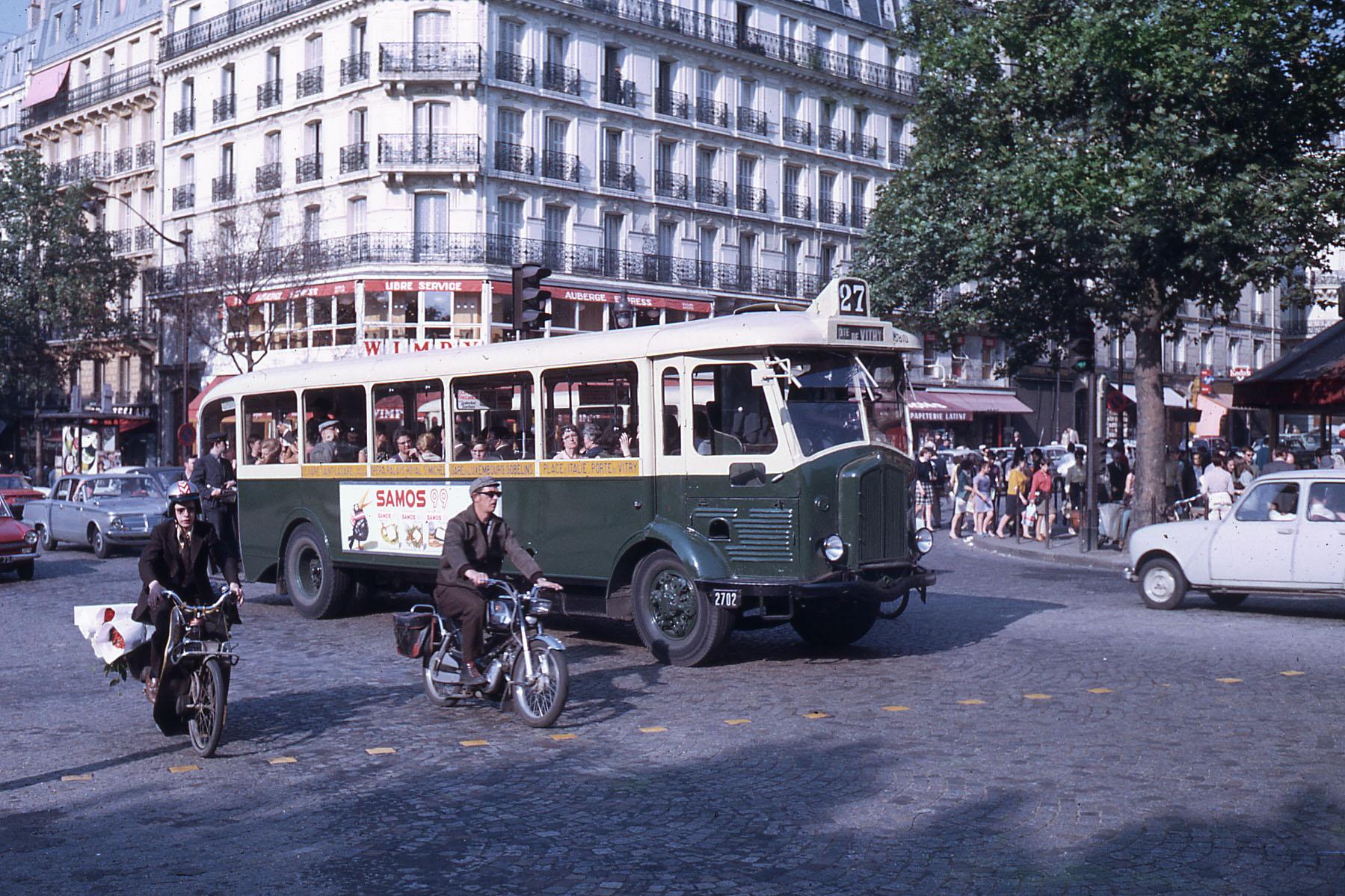 1968 Париж RATP autobus TN4 HBl_2