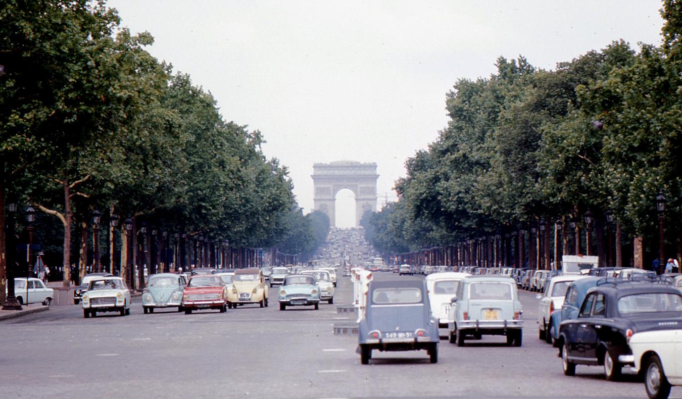 1968 Париж