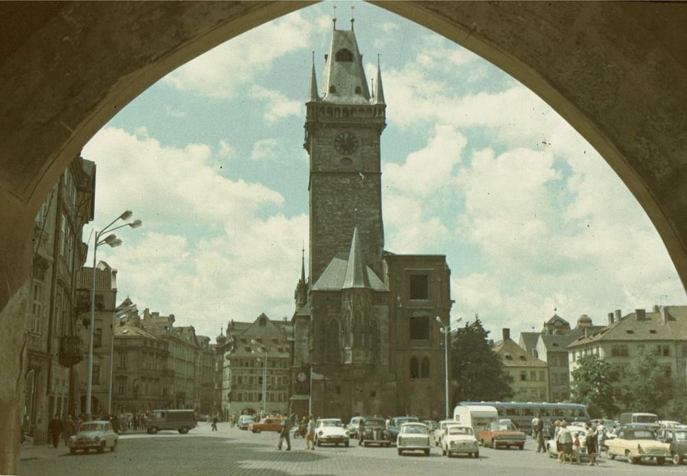 1968 Прага. Староместская ратуша