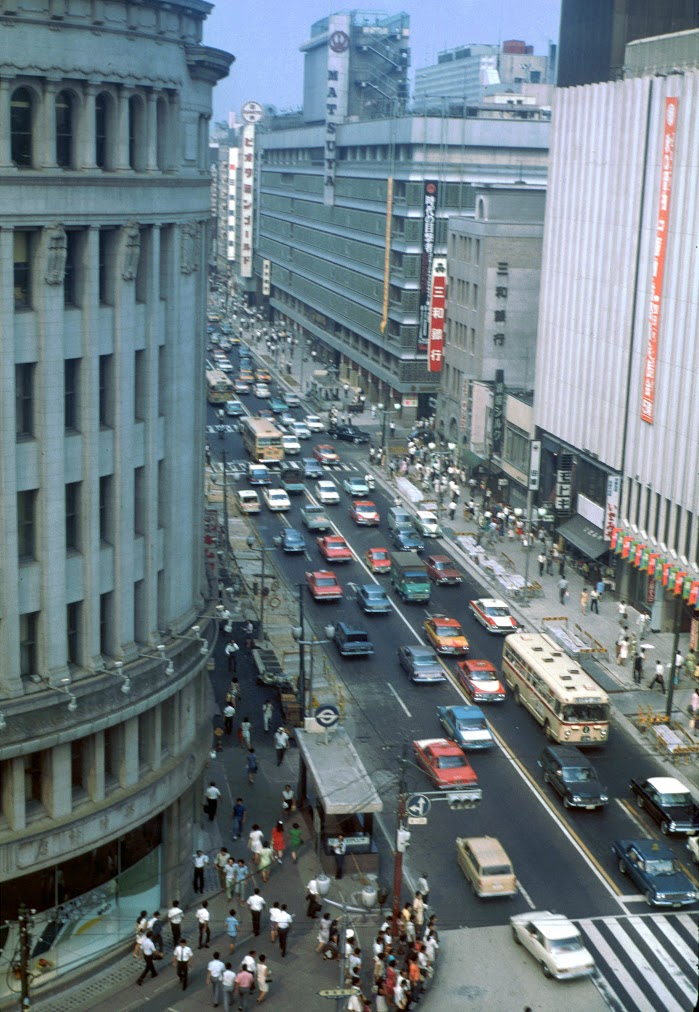 1968 Токио, Гинза